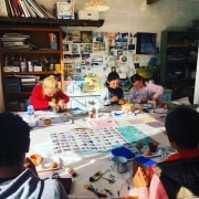 Decoupage workshop at Ashton Park
