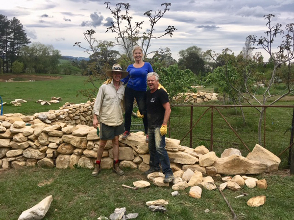 Dry Stone Wall Building Workshop