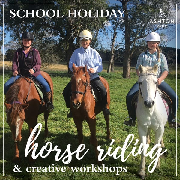 school holiday activities southern highlands - horse riding