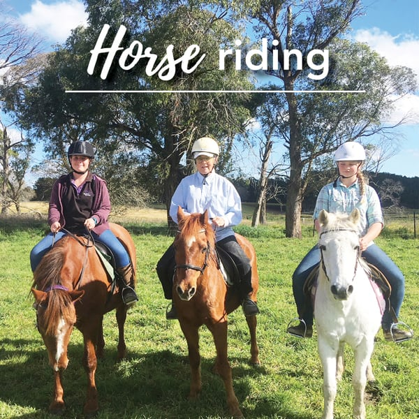 Horse Riding Southern Highlands School Holidays