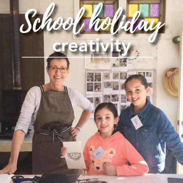 School holiday creative workshop