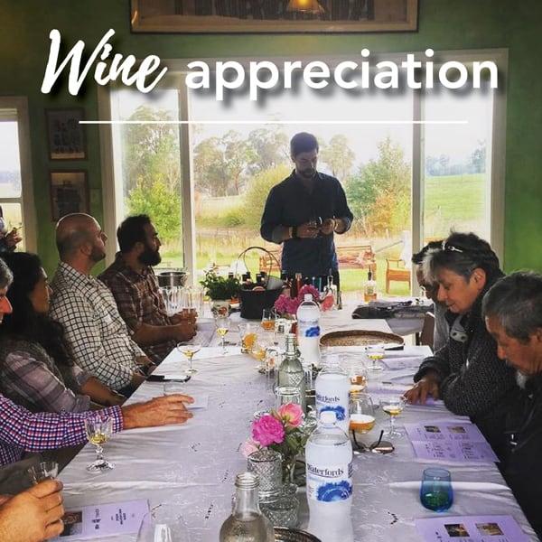 Wine appreciation course Ashton Park