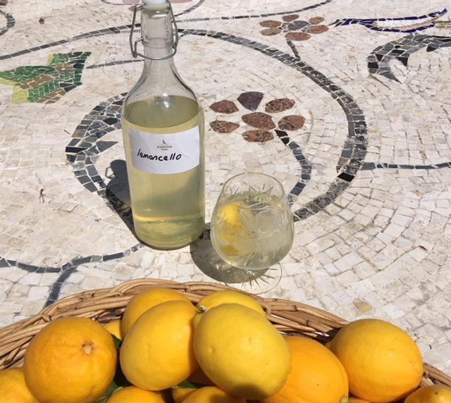 Artisanal food and drink - lemoncello