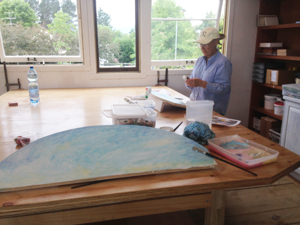 Art studio, Moss Vale in the Southern Highlands